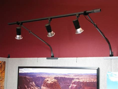 10 wall track lighting setup 3 bulb propanels versatile display system for artists schools