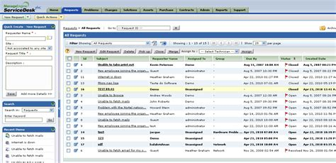 manage engine service desk plus msp center lite integration help desk software