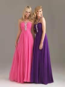 Long Pink Prom Dress