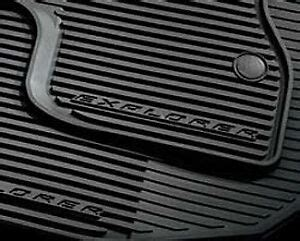 2011 2015 ford explorer all weather floor mats 4 pc set - Ford Explorer All Weather Floor Mats