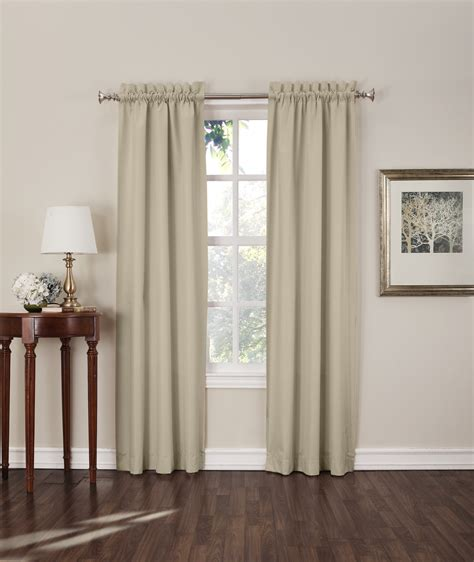 sun zero curtains sun zero shawn 2 pack blackout curtain panels home
