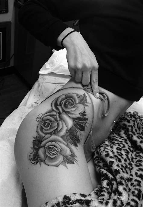 so glad i finally did it :) rose hip tattoo   Tattoos   Pinterest   Tattoo, Tatting and Piercings