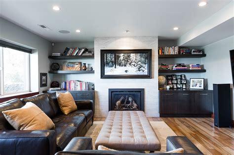 brockbank contemporary living rooms renovation design group