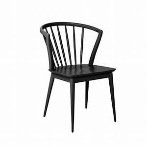 Chaises Scandinaves Noires : chaise barreaux scandinave noir bloomingville sur cdc design ~ Teatrodelosmanantiales.com Idées de Décoration