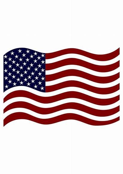 Flag American Usa Svg Clipart Svgheart