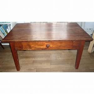 Table En Bois Massif Ancienne : table basse rustique ancienne bois massif achat et vente ~ Teatrodelosmanantiales.com Idées de Décoration