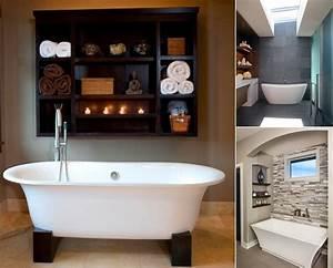 10, Chic, And, Classy, Behind, Bathtub, Wall, Ideas