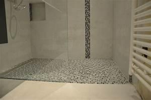 Carrelage Sol Pas Cher : carrelage salle de bain avec mosaique pas cher carrelage ~ Dailycaller-alerts.com Idées de Décoration