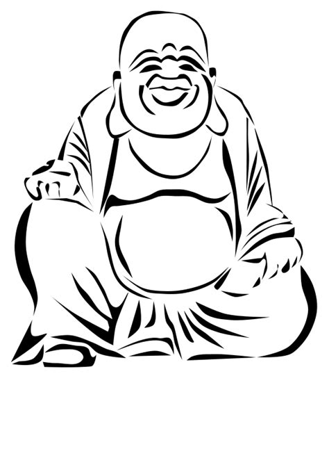 Buddha Drawing Step By Step | Free download on ClipArtMag