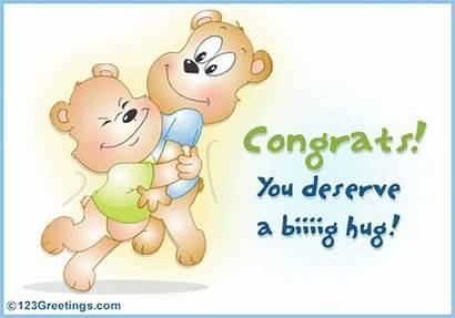 Hug Congratulations Congrats Everyone Warm Congratulate Greetings