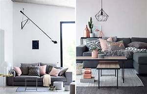 Salon Gris Et Rose : la fabrique d co associer les couleurs dans la d co ~ Melissatoandfro.com Idées de Décoration