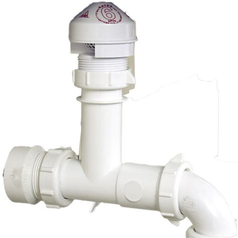 aav valve oatey 39239 sure vent air admittance valve kit 6 dfu rated pvc tubular