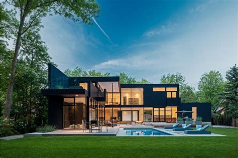 Top Photos Ideas For Canadian Home Designs Floor Plans by Ultra Sleek Home With Architecture