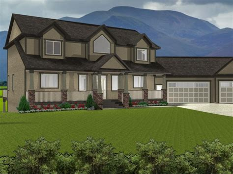 Ranch House With Walkout Basement Plans House Design And
