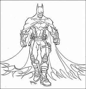 Superhero Batman Coloring Pages For Boys - Color Zini
