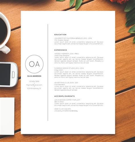 14824 simple creative resume 871 best images about design resumes on