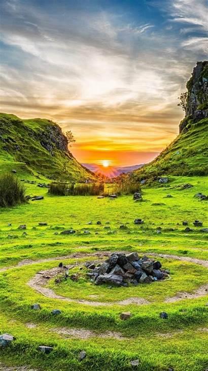 Nature Scotland 4k Skye Isle Fairy Glen