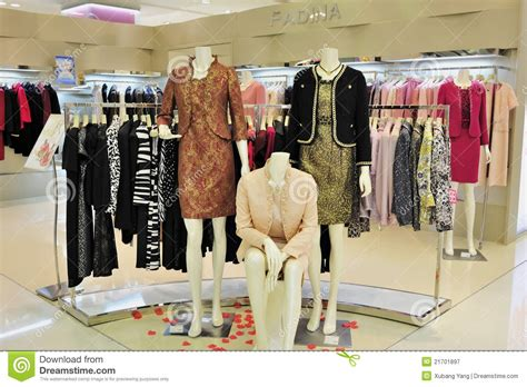 Image Clothing Store S Fashion Clothing Store Editorial Photography