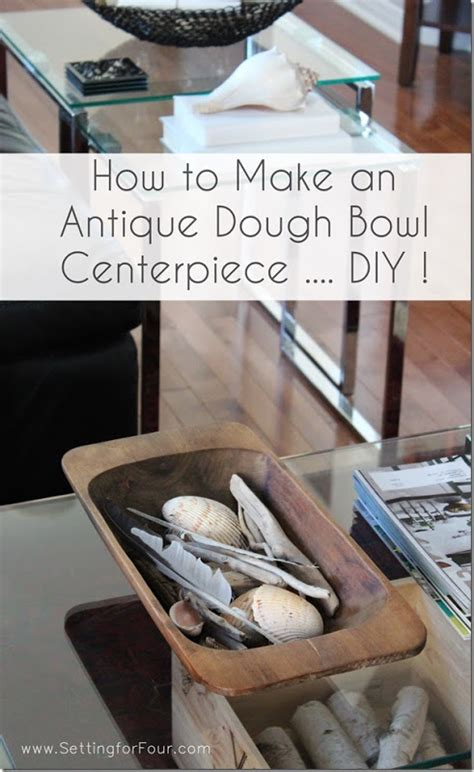 How To Stain And Refinish A Dough Bowl Diy Tutorial