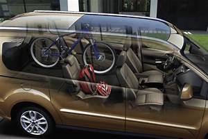 Ford Transit Connect 5 Places : es legal llevar la bici dentro del coche ~ Medecine-chirurgie-esthetiques.com Avis de Voitures