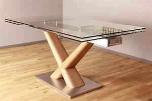 Esstisch Glas Holz : kasper wohndesign esstisch aus glas 160cm ausziehbar gino online kaufen otto ~ Whattoseeinmadrid.com Haus und Dekorationen