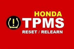 Instruction On How To Reset The Honda Tpms