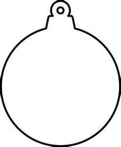 clipart christmas ornament shape