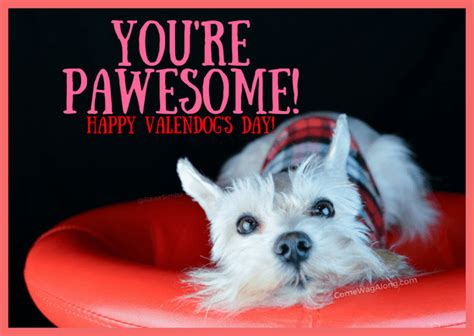 Maybe you would like to learn more about one of these? FREE Printable Valentine's Day Cards for Dog Lovers - Come Wag Along