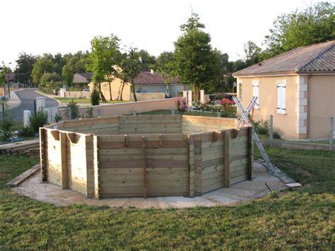 nivrem montage terrasse bois autour piscine diverses id 233 es de conception de patio en
