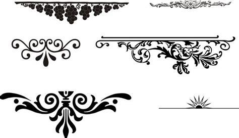 european gorgeous pattern element vector  vector vector