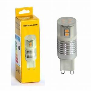 Led 2 5 Watt Entspricht : leditburn g9 led cylinder alu 2 5 watt ersetzt 20w a 210lm warmwei 240v nicht dimmbar ~ Markanthonyermac.com Haus und Dekorationen