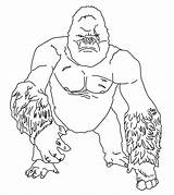 Gorilla Coloring Pages Printable Cute Sheets Animals Momjunction Intended Cartoon Forest Others Animal sketch template
