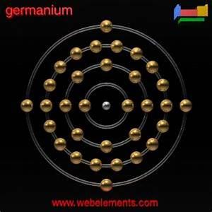 Germanium»properties of free atoms [WebElements Periodic ...