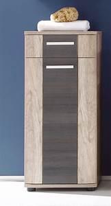 meuble bas salle de bain 1 porte With porte d entrée alu avec colonne salle de bain teck pas cher