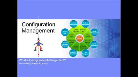 configuration management   cmdb youtube