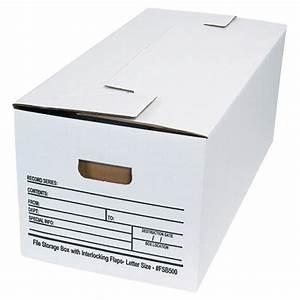 letter size interlocking flap file storage boxes box of 12 With letter size file storage boxes