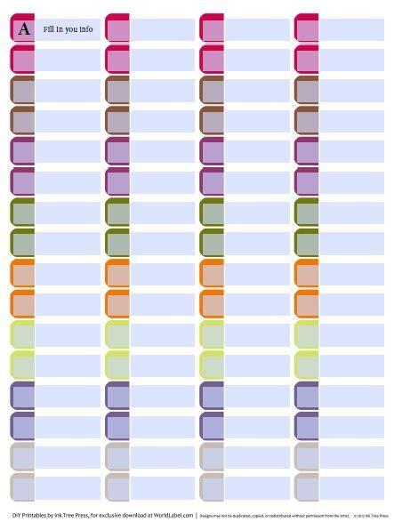 25 best ideas about file folder labels on pinterest