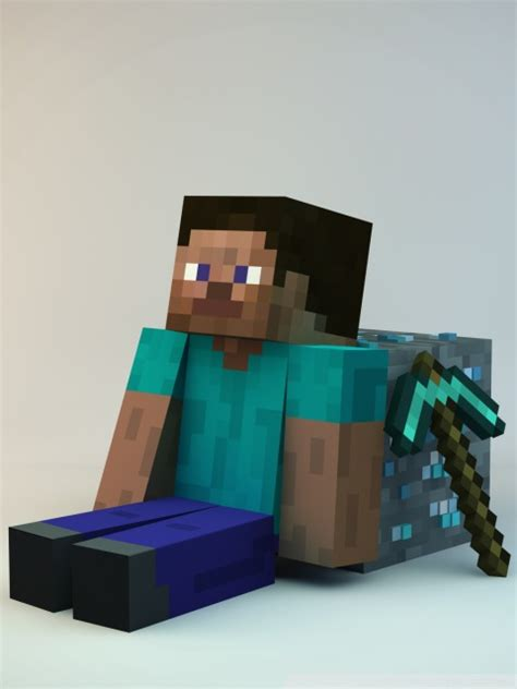 minecraft guy  hd desktop wallpaper   ultra hd tv