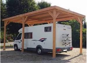 Abri Camping Car Bois : abri camping car carport pour v hicule de loisirs ~ Dailycaller-alerts.com Idées de Décoration