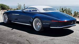 2018 Vision Mercedes Maybach Six Cabriolet Inside