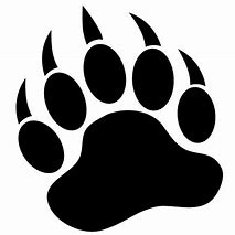 Image result for bear paw print images