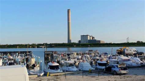 centrale di porto tolle po di pila attracco di pila e centrale termoelettrica di