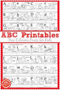learn to write the abc39s with free kids printables With learning to print letters
