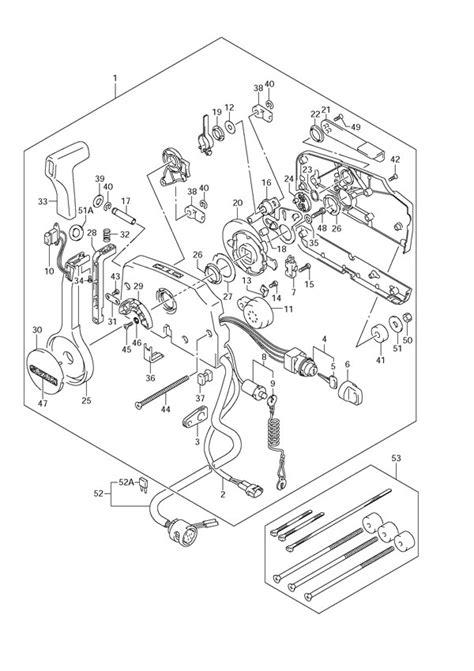 fig  opt remote control suzuki df  parts