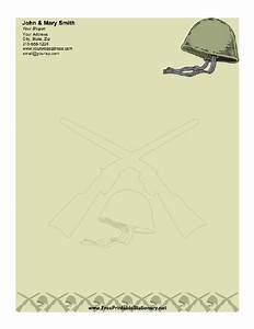 Army stationery for Stationary for military letters