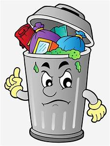 The, Rubbish, In, The, Garbage, Can, Can, Clipart, Cartoon, Garbage, Png, Transparent, Clipart, Image, And