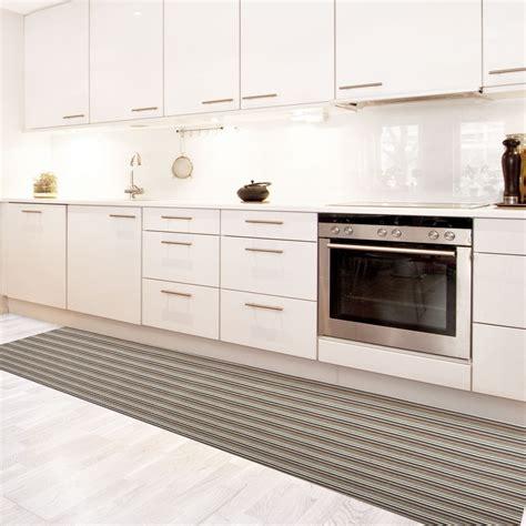tapis pour cuisine original tapis de cuisine vinyle hydrofuge antidérapant sur