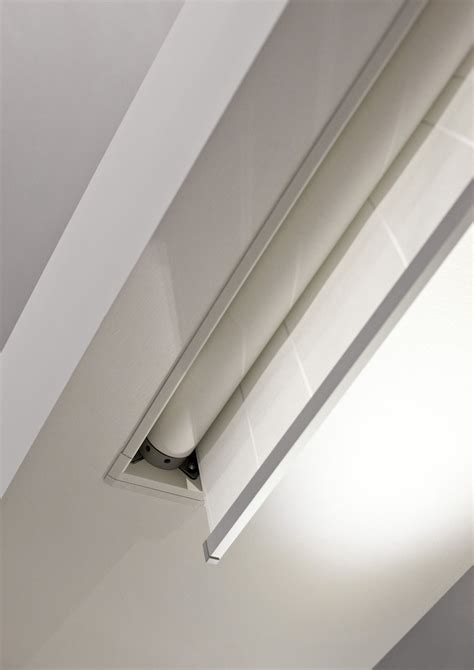 groove  roller blind hides mycore curtains
