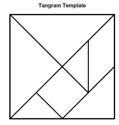 tangram template saladogt geometry unit 8