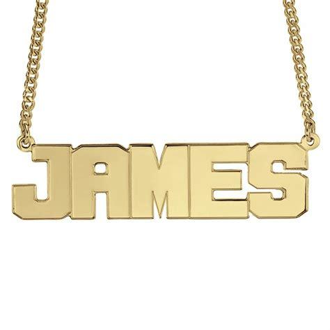 mens wide block  necklace xmm